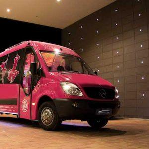 Benidorm Party Bus airport transfers